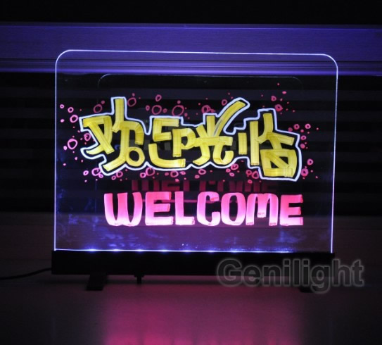 Double Surface LED Writing Board